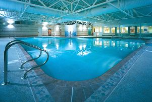 The 17-metre pool, hot tub and adjacent sauna and steam rooms are among a host of family-friendly facilities at Silverdale