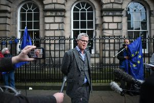 Jolyon Maugham QC outside the Court of Session in Edinburgh (Photo by Jeff J Mitchell/Getty Images)