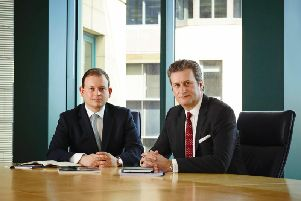 Cairn Energy's chief financial officer James Smith and chief executive Simon Thomson. Picture: Contributed