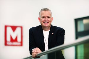 Graeme Malcolm, chief executive and founder at M Squared, said the funding will help accelerate 'ground-breaking' work. Picture: John Devlin.