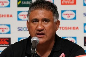 Jamie Joseph relished clashes with the Springboks as an All Black and can't wait for Sunday as Japan coach. Picture: Getty Images