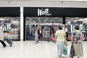 Watt Brothers was a popular store among shoppers in Falkirk