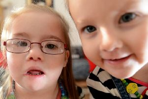 The idea that having a child with Down's Syndrome is a family tragedy disappears over time (Picture: Neil Hanna)