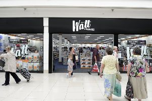Watt Brothers had  a chain of stores across Scotland like this one in Falkirk (Picture: Michael Gillen)