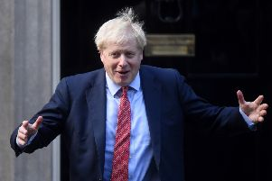 Prime Minister Boris Johnson has insisted 'there's no better outcome than the one I'm advocating' as he challenges MPs to back his Brexit deal. Picture: Peter Summers/Getty Images