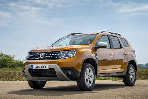 The Dacia's elevated chassis and large boot are key assets