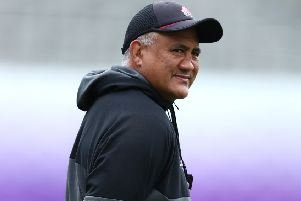 Head coach Jamie Joseph, who has played for New Zealand,  lined up both for and against Japan at World Cup tournaments.  Photograph: Stu Forster/Getty Images.