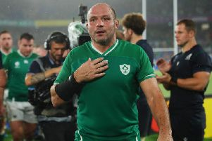 End of the road for Ireland skipper Rory Best after emphatic defeat by New Zealand in Tokyo. Pictures: Getty Images