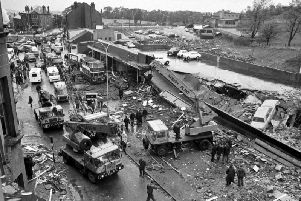 The explosion at Clarkston Toll shopping centre killed 22 people, mainly women who had been working and shopping on the day of the blast. PIC: TSPL.