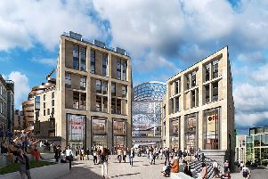 An idea of what St James Edinburgh will look like is coming into focus. Picture: St James Edinburgh