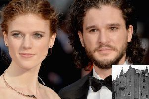 The father of Game of Thrones actress Rose Leslie has told how his famous daughter gave him money when the family's Scottish castle was repossessed.