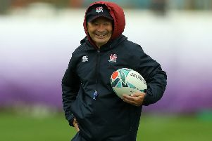 Eddie Jones says his England side have nothing to lose when they face New Zealand in the World Cup semi-finals. Picture: Getty
