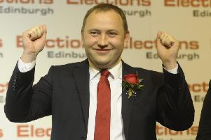 Labour MP Ian Murray following his win in the 2017 general election