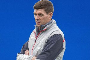 Rangers manager Steven Gerrard has backed a club call for fans to behave in Porto. Picture: Ross MacDonald/SNS