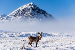 Hill walkers have been told to brace for winter conditions this weekend as fresh snowfall. Picture: VisitScotland