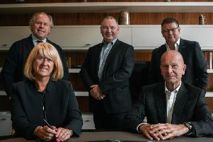 (Top left to right): Norman Peterson, director of GCV and Maven Bonds; Bill Kennedy, non-executive director of GCV and director of Maven Bonds; Craig Peterson, director of GCV and Maven Bonds (Bottom left to right): Suzanne Lupton, non-executive director of GCV and director of Maven Bonds; Simon Lenney, independent chairman of Maven Bonds. Picture: Contributed