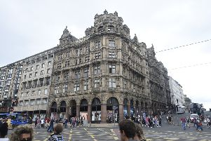 Jenners department store on Princes Street (Picture: Greg Macvean)