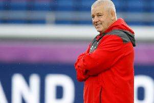 Wales coach Warren Gatland knows the semi-final against South Africa will be a cagey affair. Picture: Odd Andersen/AFP via Getty