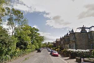 The incident reportedly took place on a street next to Portobello High School around 2.15pm yesterday. Picture: Google