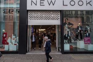 New Look is one of the retail chains forced to close stores.  Photograph: Chris J Ratcliffe/Getty