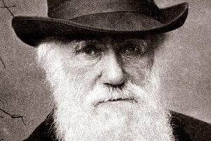 Charles Darwin is widely considered the father of the theory of biological evolution. Photograph:Colin Purrington