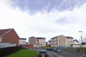 The body of a man in a block of flats on Camelon Crescent in the early hours of Sunday morning.