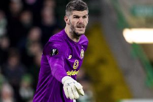 Fraser Forster would be willing to take a pay cut for Celtic. Picture: Craig Williamson/SNS