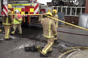 Attacks on fire crew have soared in the past year. Picture: John Devlin