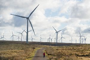 Onshore wind has suffered because of UK Government policies (Picture: John Devlin)
