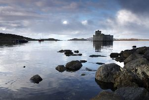 Kisimul Castle, Castlebay, Isle of Barra. The island suffered terribly during the potato famine. 'PIC: P. Tomkins/VisitScotland