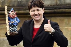 The party has been without a permanent leader north of the Border since Ms Davidson resigned in August. Picture: JPIMedia