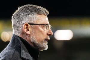 Craig Levein looks on during his final game in charge at St Johnstone on Wednesday night. Picture: Roddy Scott/SNS