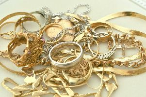 It is illegal to sell anything in the UK made from a precious metal, silver, gold, platinum and palladium, over a certain weight without a hallmark, which confirms the material.