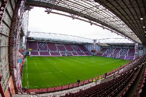 The new Hearts manager will want to turn Tynecastle back into an intimidating venue for away teams. Picture: SNS