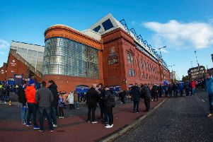 Rangers financial results show increased losses and a higher turnover. Picture: SNS