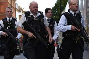 Britain's terrorism threat level has been downgraded . Picture: AFP