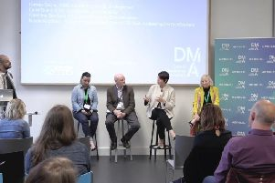 The Value of Data event during the Fintech Festival.