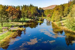 Lottery cash will help recreate an oriental garden in the heart of Scotland.