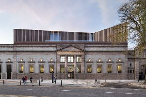 Exterior view of the new-look Aberdeen Art Gallery PIC: Gillian Hayes, Dapple Photography & Hoskins Architects