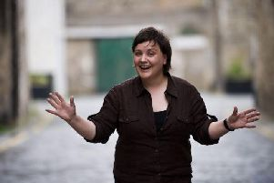Susan Calman has taken over from Jackie Bird as the host of BBC Scotland's Hogmanay coverage.