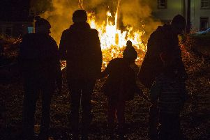Firefighters were attacked at six locations across Scotland on bonfire night 2019.
