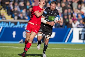 Glasgow Warriors lost three times to Saracens in the Champions Cup last season. Picture: SNS