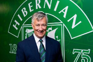 Ron Gordon has addressed supporters via Hibs TV