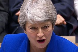 """Theresa May, who, as Conservative Home Secretary, introduced the Hostile Environment Policy with remarks including: """"The aim is to create, here in Britain, a really hostile environment for illegal immigrants."""" PIC: House of Commons/PA Wire"""