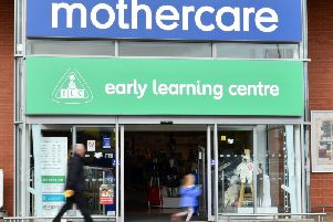 Mothercare stores are holding closing down sales across Scotland.