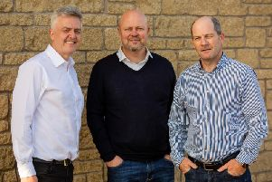 From left: Consenna's Douglas Jeffrey, Paul Thompson and Trevor Evans. Picture: Contributed