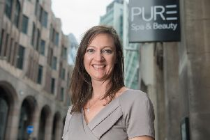 Pure Spa & Beauty owner Becky Woodhouse. Picture: Contributed