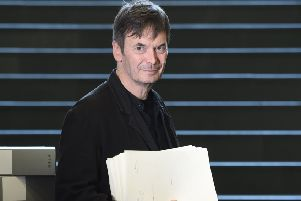 Westwind by Ian Rankin is being republished nearly 30 years after going out of print (Picture: Neil Hanna)