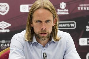 Austin MacPhee believes Hearts must appoint a sporting director before a new manager. Picture: SNS.