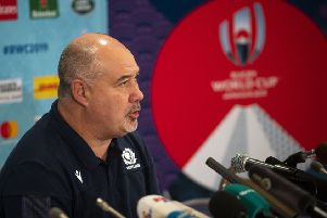 SRU chief executive Mark Dodson annoyed the World Cup organisers. Picture: Gary Hutchison/SNS